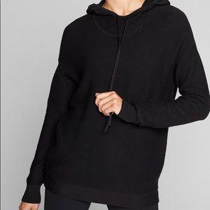 Athleta Daybreak Hoodie Sweater Black XXS